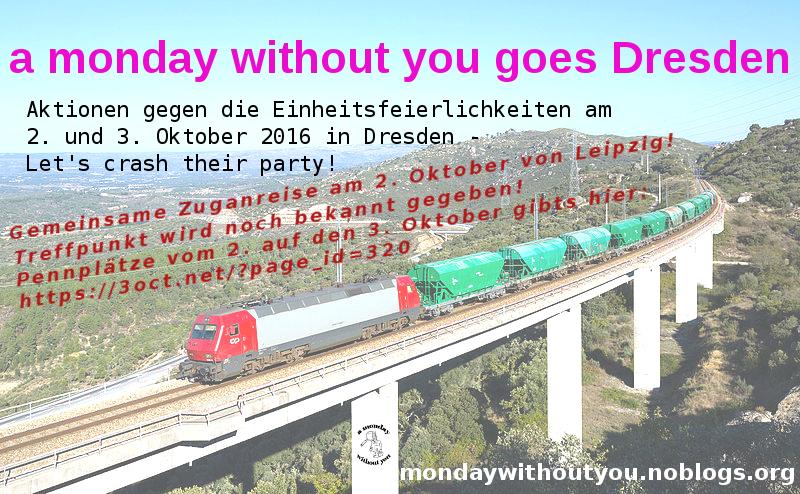 Gemeinsam mit dem Zug zum Party-Crashen!